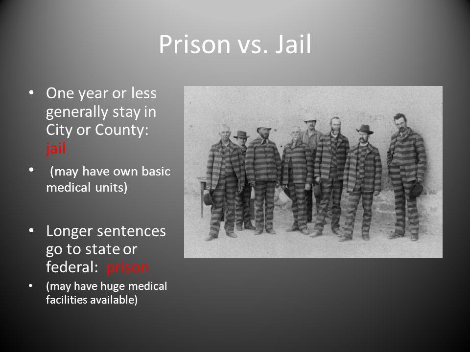 Prison vs.