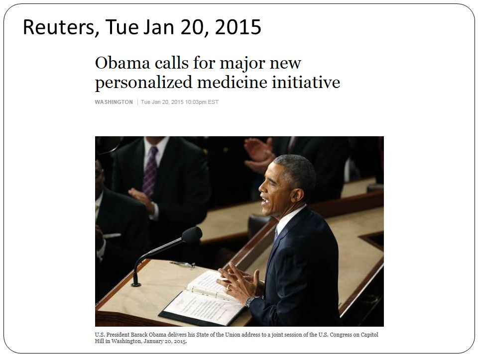 Reuters, Tue Jan 20, 2015