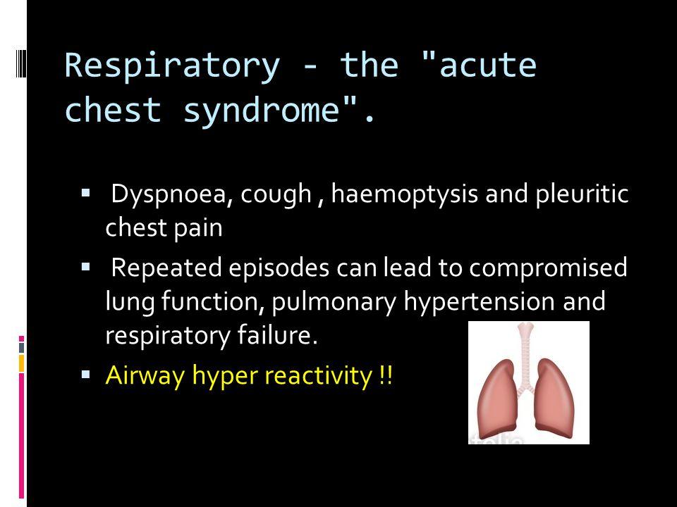 Respiratory - the