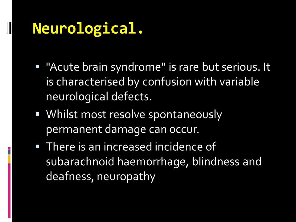 Neurological. 