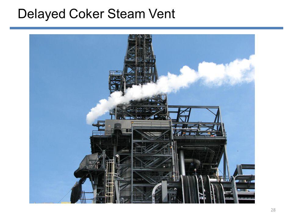 Delayed Coker Steam Vent 28