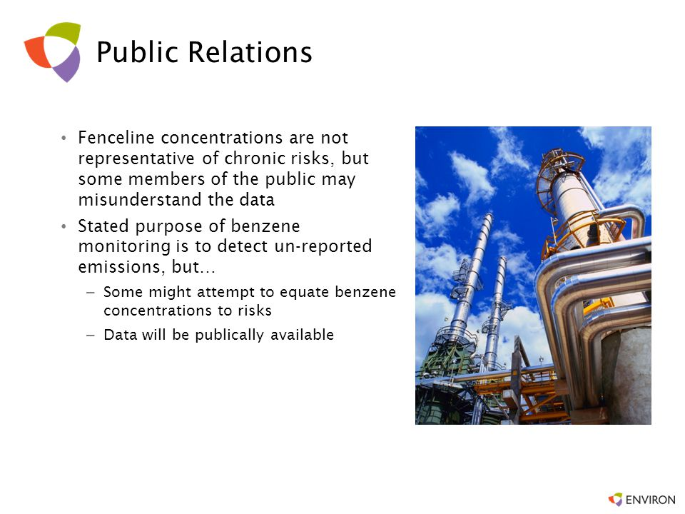 These findings reflect a relational theory of risk communication Recognizing the perceived object at risk –Environmental –From the city's perspective –Safety –Freedom.