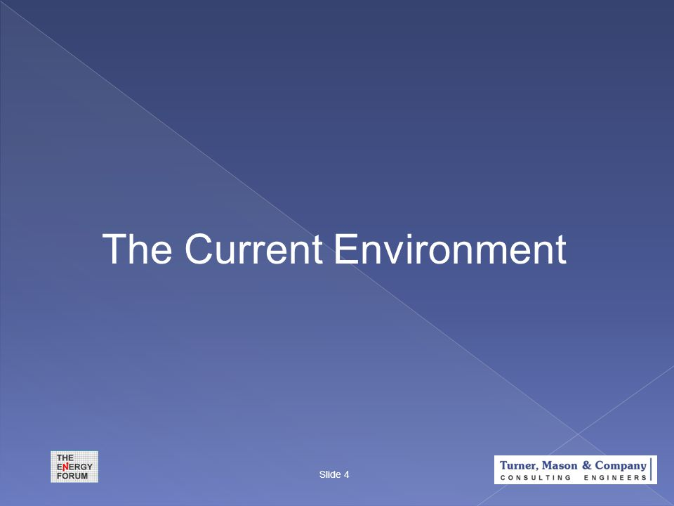 The Current Environment Slide 4