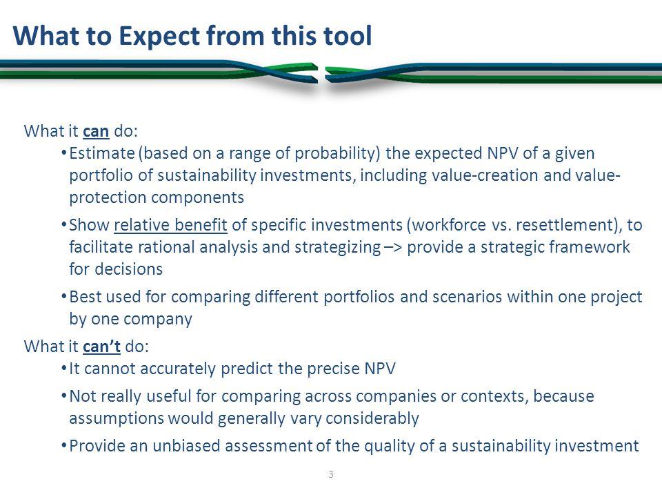 Sustainability Investment Portfolio Evaluation: Value Creation 34