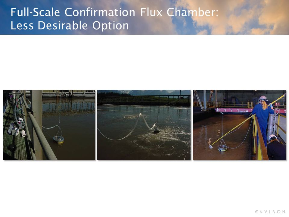 Full-Scale Confirmation Flux Chamber: Less Desirable Option