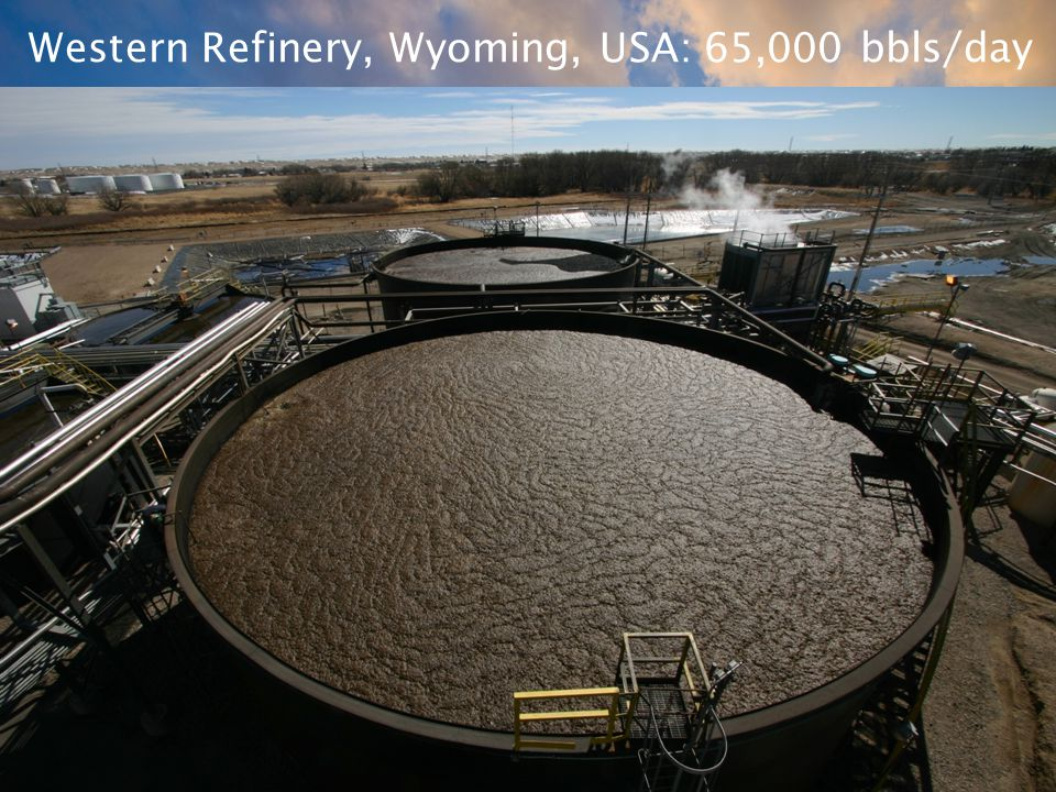 Western Refinery, Wyoming, USA: 65,000 bbls/day