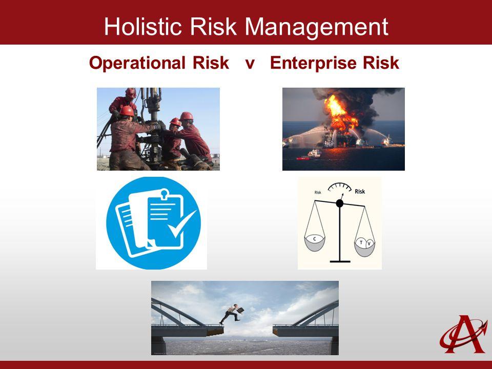 Holistic Risk Management Operational Risk v Enterprise Risk