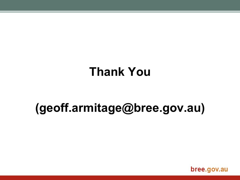 bree.gov.au Thank You (geoff.armitage@bree.gov.au)