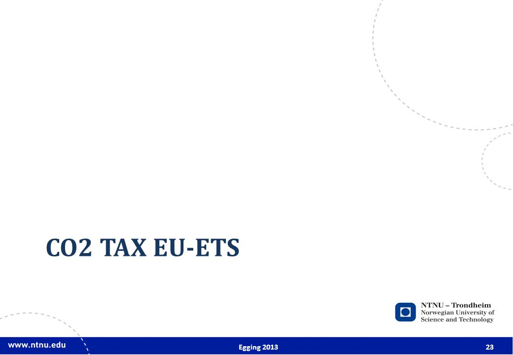 CO2 TAX EU-ETS Egging 201323