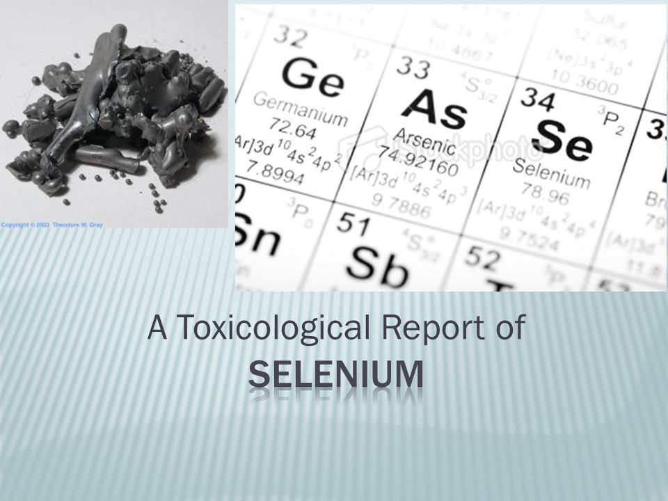 'Selene , moon in Greek.Discovered in 1817. Non-metal element, Group 6, the chalcogens.