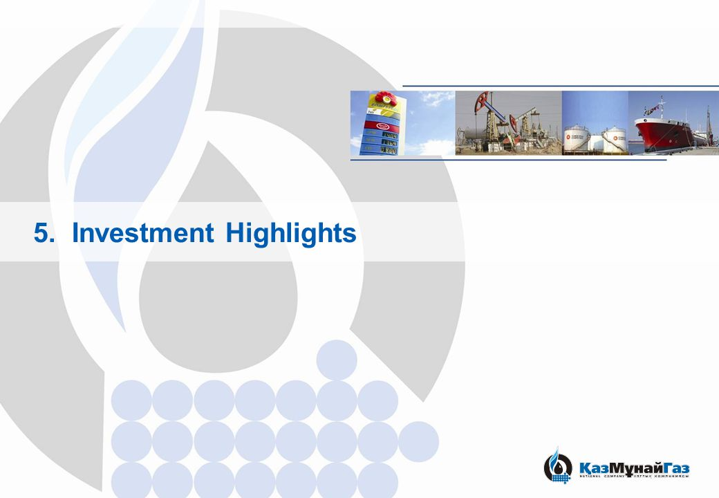 5. Investment Highlights