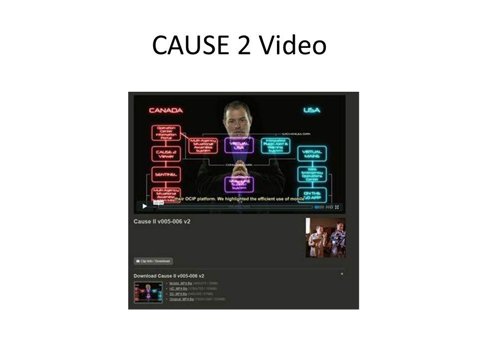 CAUSE 2 Video