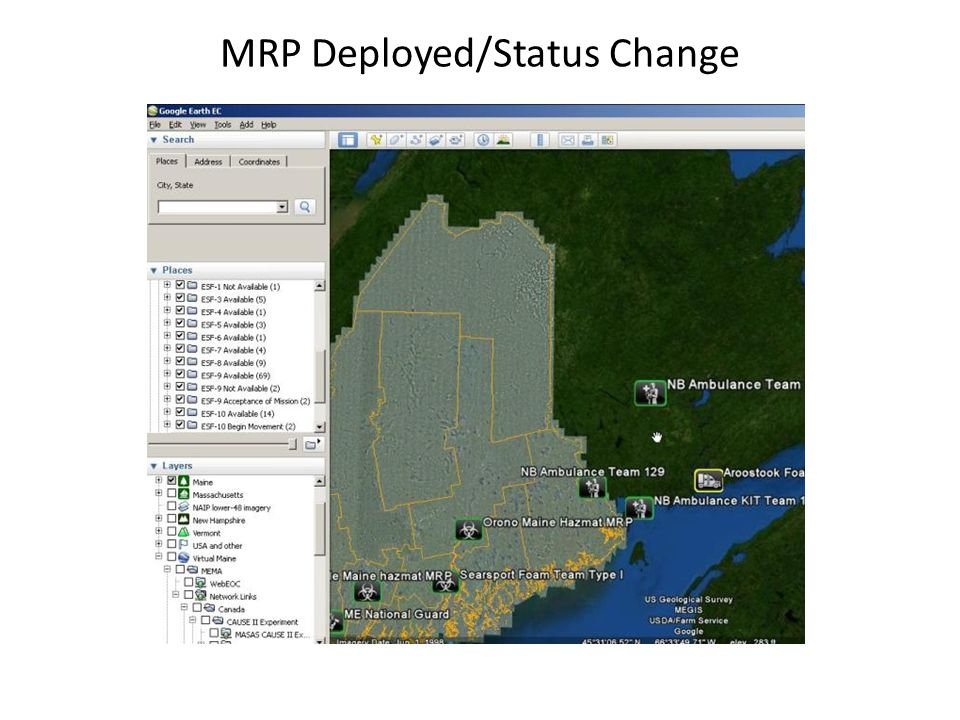 MRP Deployed/Status Change