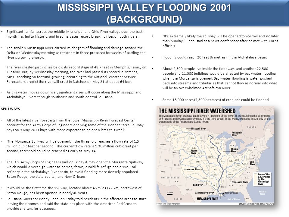 Significant rainfall across the middle Mississippi and Ohio River valleys over the past month has led to historic, and in some cases record breaking rises on both rivers.