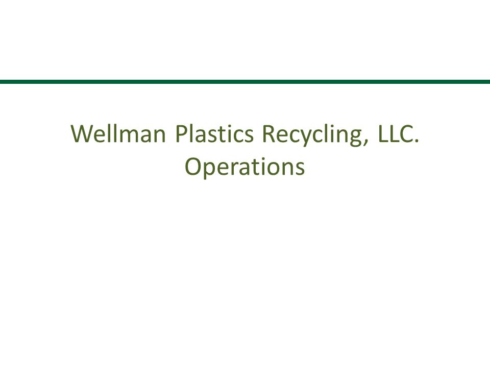 Wellman Plastics Recycling Site – Johnsonville, SC (2 million square feet under roof)