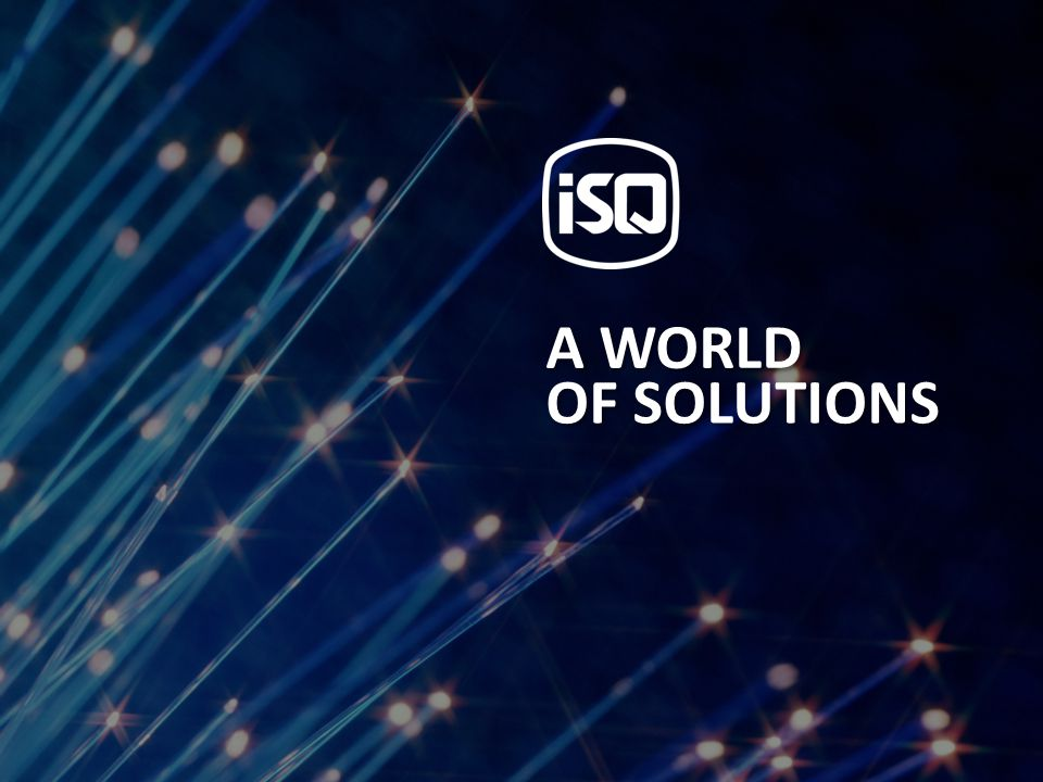OF SOLUTIONS A WORLD