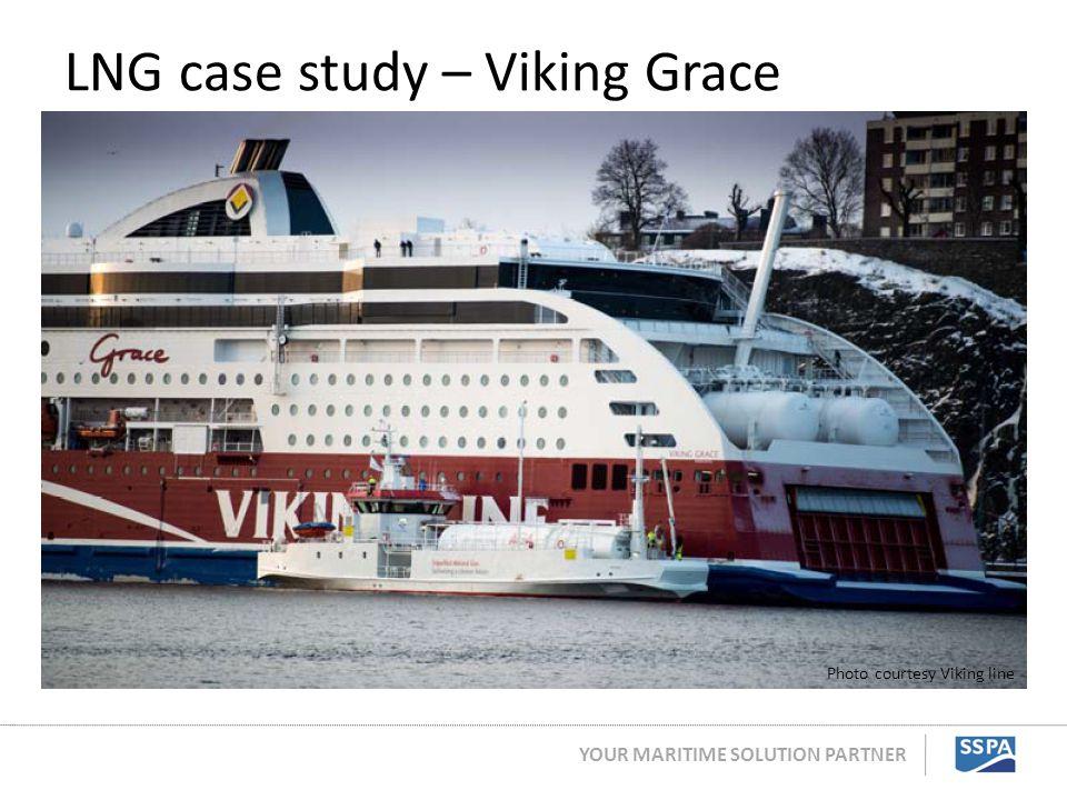 YOUR MARITIME SOLUTION PARTNER LNG case study – Viking Grace Photo courtesy Viking line