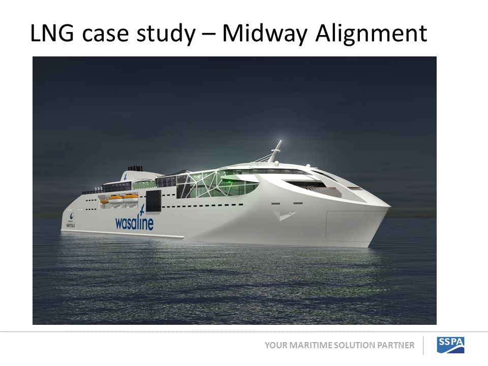 YOUR MARITIME SOLUTION PARTNER LNG case study – Midway Alignment