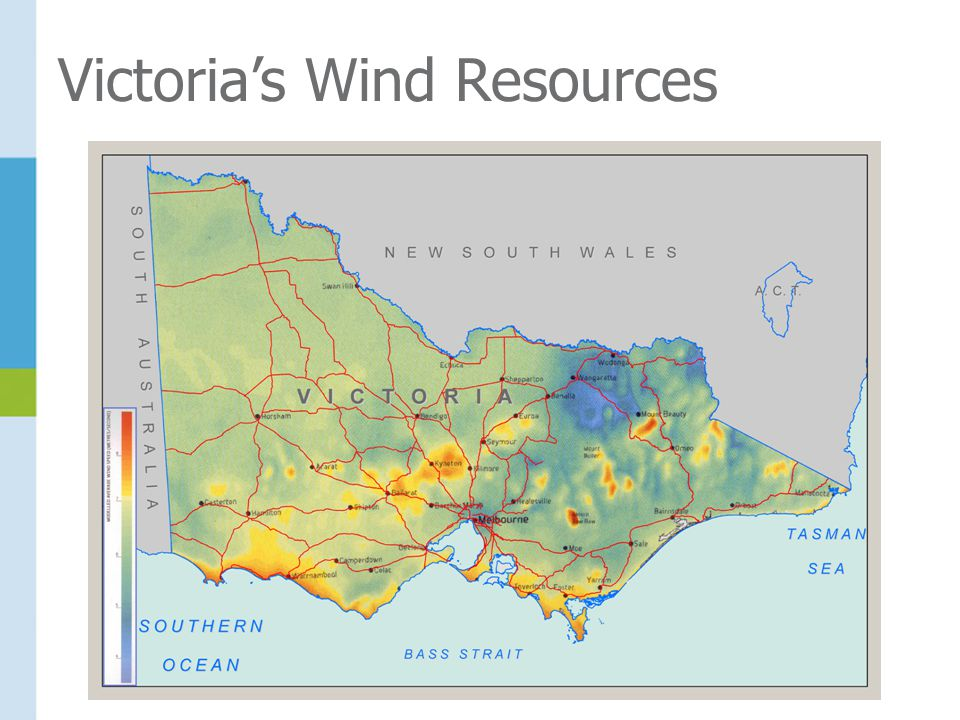 Victoria's Wind Resources