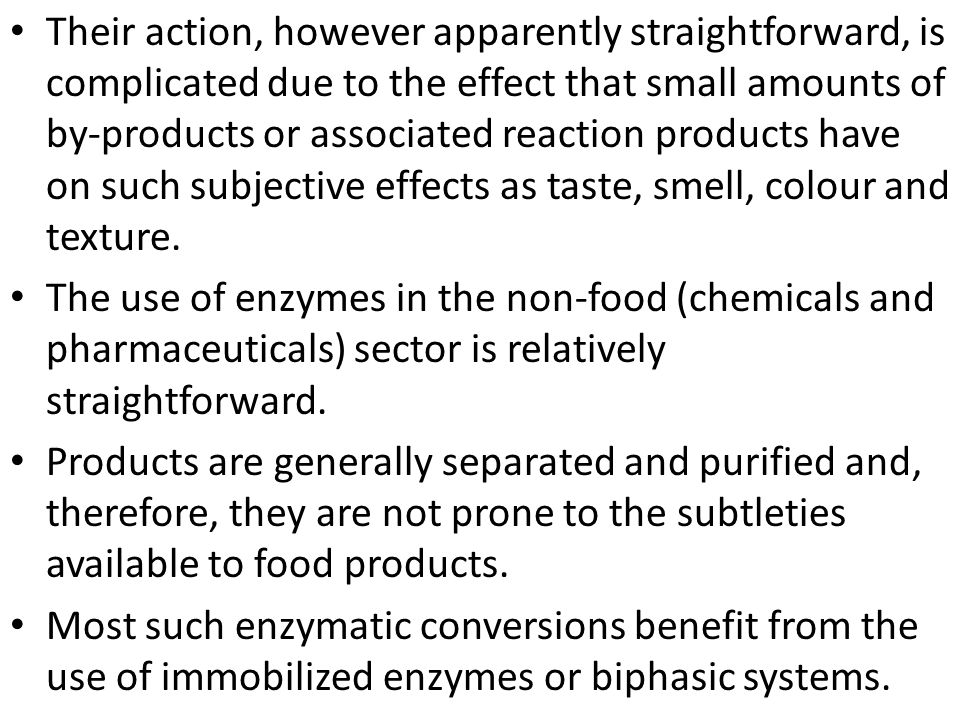 The use of enzymes in detergents