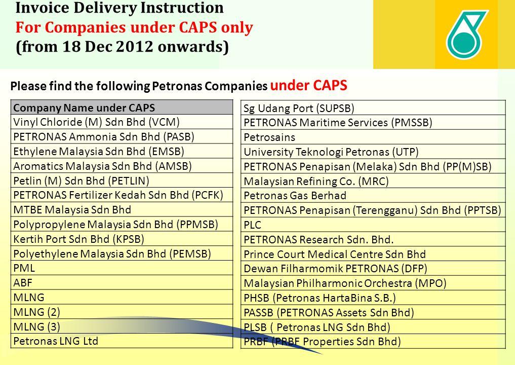 Petronas Dagangan ItemCompany 1Petronas Dagangan Berhad 2KL Aviation Fuelling System