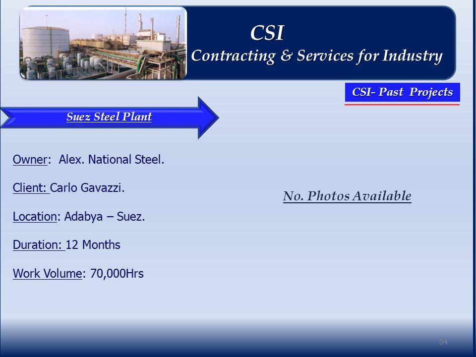 Suez Steel Plant No.