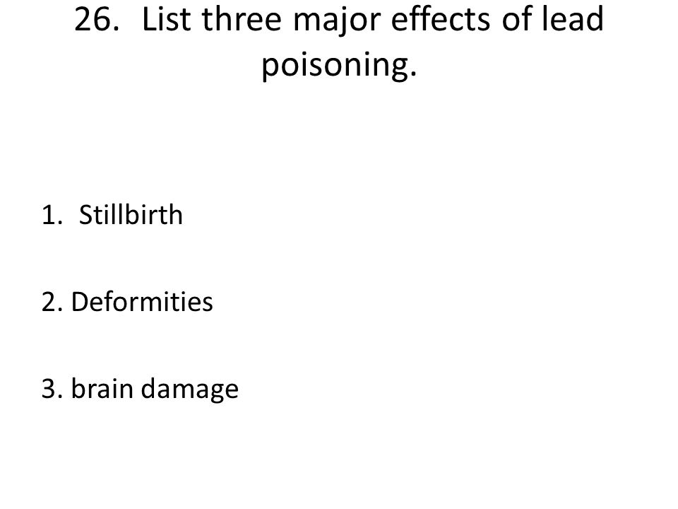 25.Arsenic was one of the first pesticides used on potatoes, cotton and apples. Why is this pesticide not ideal for the whole environment? It is a hig