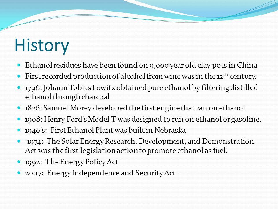 Ethanol Production Starch Ethanol Wet Milling Dry Milling Fermentation Separation Purification