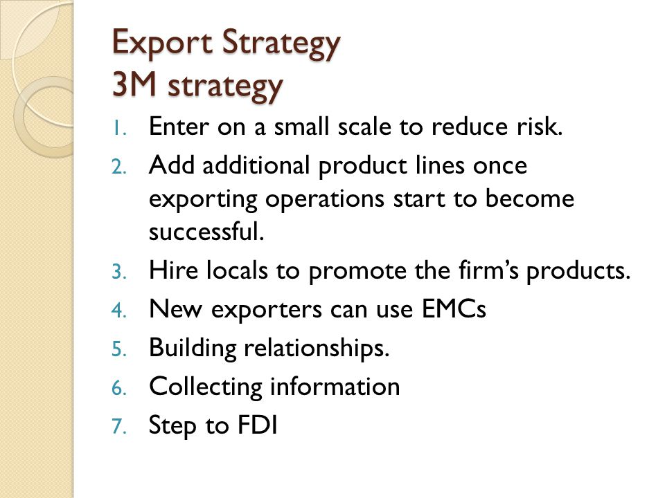 Export and Import Financing Lack of trust between the exporter and importer- payment against the shipment issue.