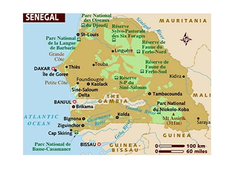 Geography Dakar is Senegal's capital and largest city.