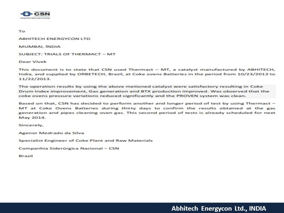 Abhitech Energycon Ltd., INDIA