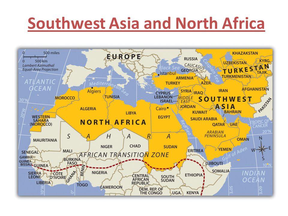 The Arabian Peninsula Ch.22 Section 1