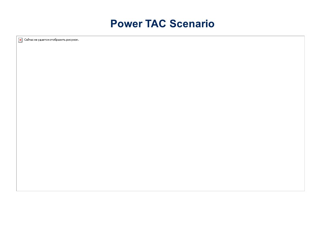 Power TAC Scenario