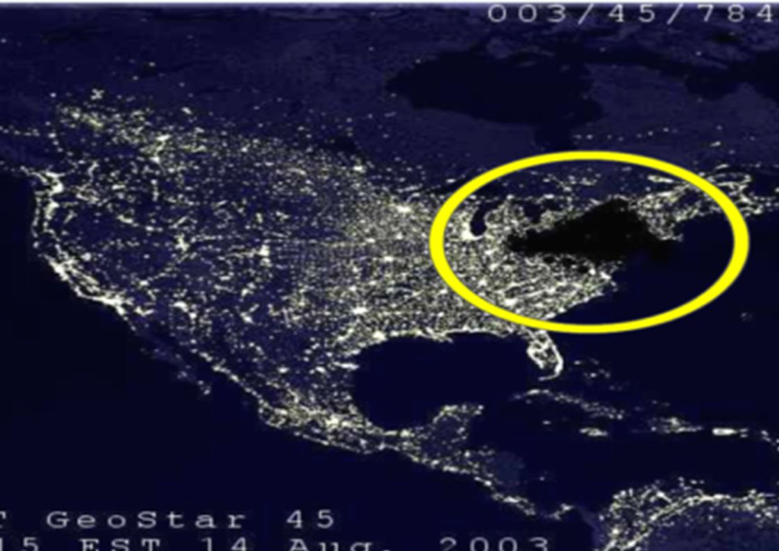 USA Northeast blackout of 2003