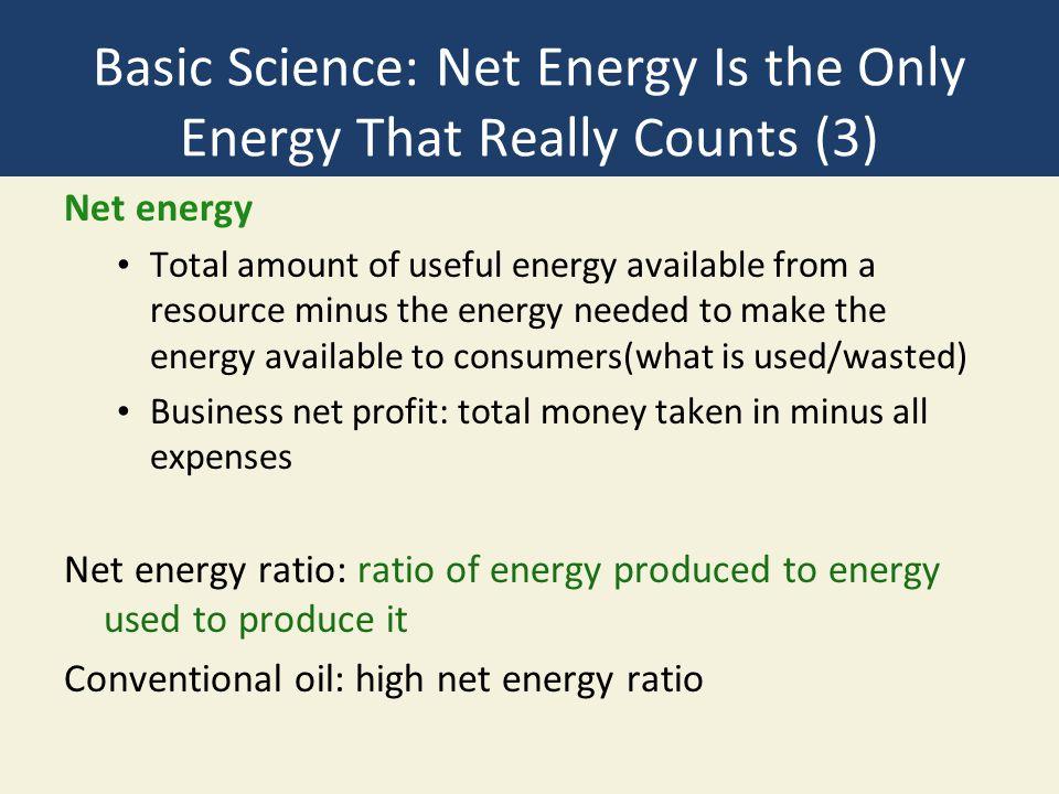 Net Energy Ratios Fig. 15-3, p. 373