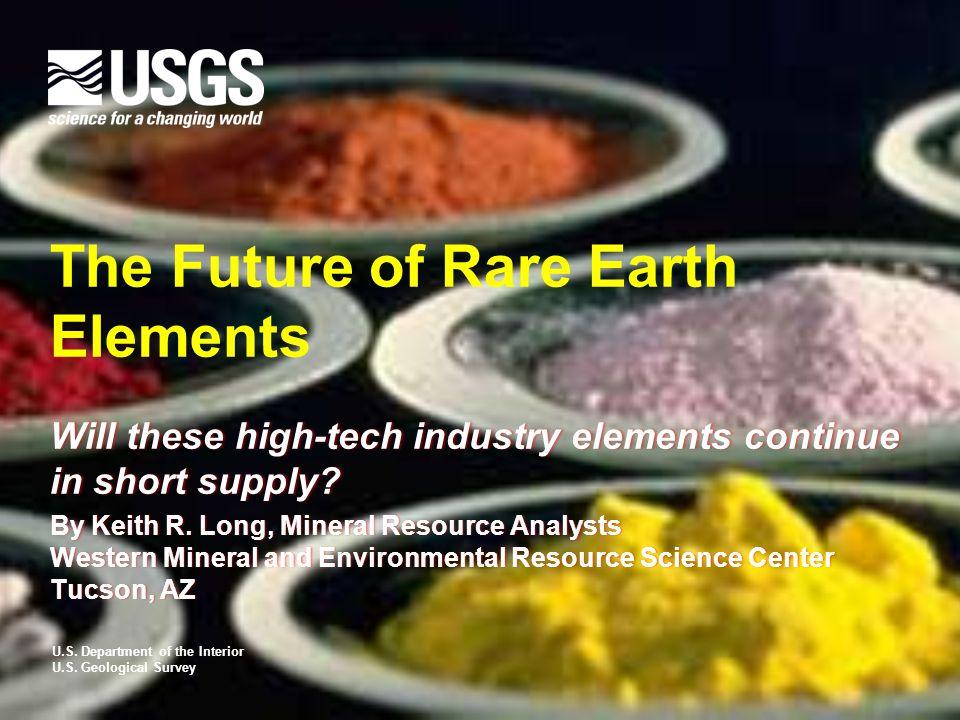 REE Mine Development Projects