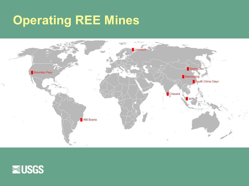 Operating REE Mines