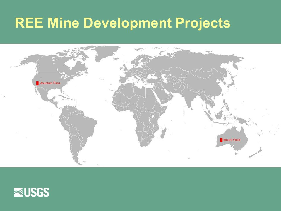 REE Mine Development Projects