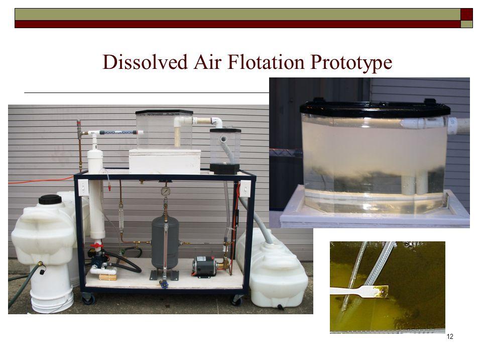 Dissolved Air Flotation Prototype 12