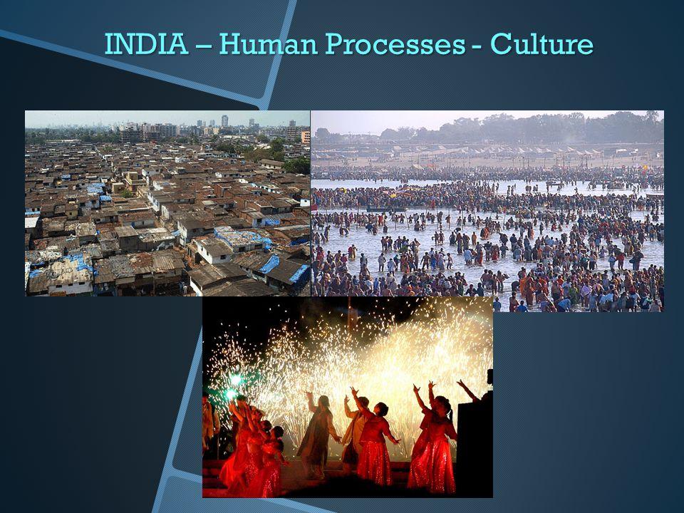 INDIA – Human Processes - Culture