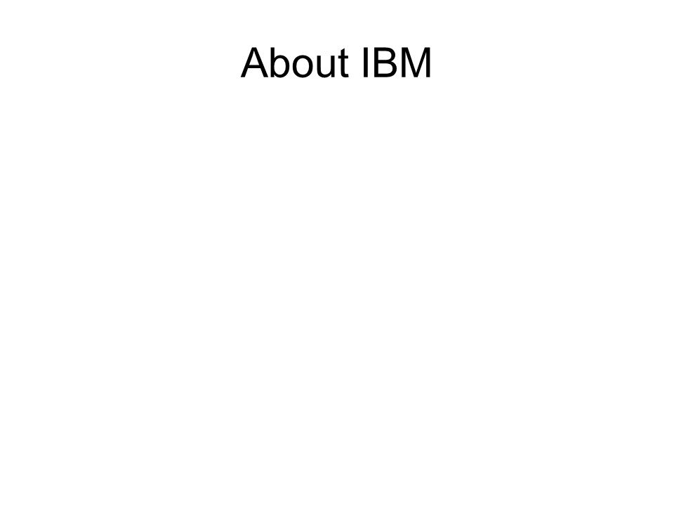 About IBM