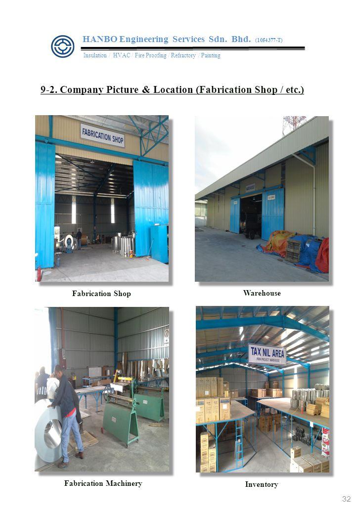 Fabrication Machinery Fabrication Shop Warehouse 9-2.