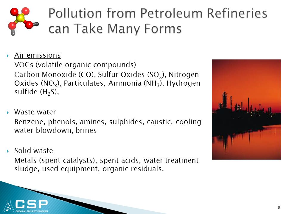 30  Advantages Allows on-site recovery and reuse of petroleum refining waste, increasing yields of products.