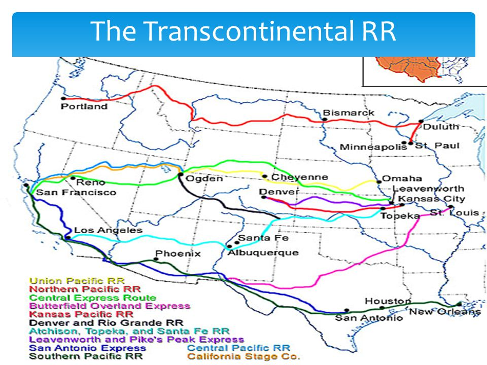 The Transcontinental RR