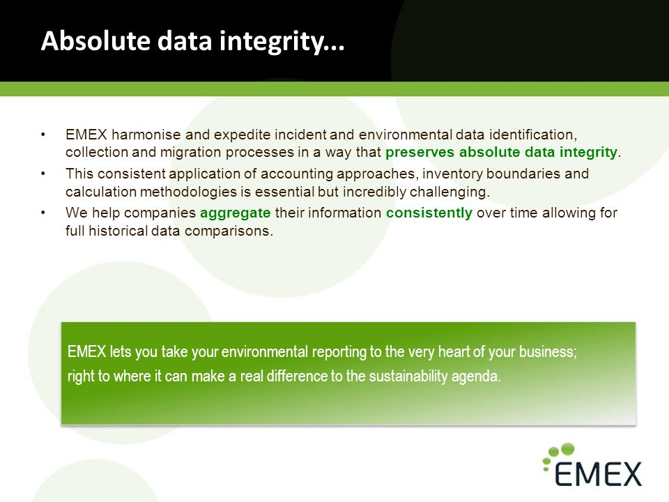 Our credentials in EHS and Sustainability Reporting...