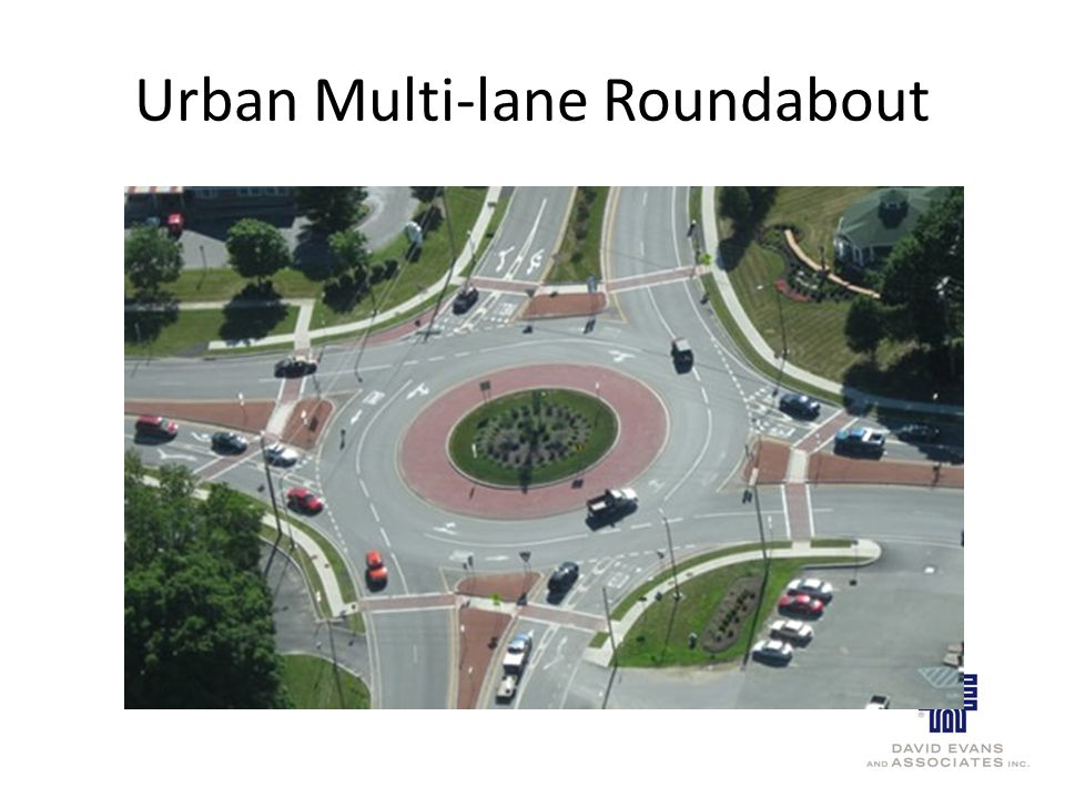 Urban Multi-lane Roundabout