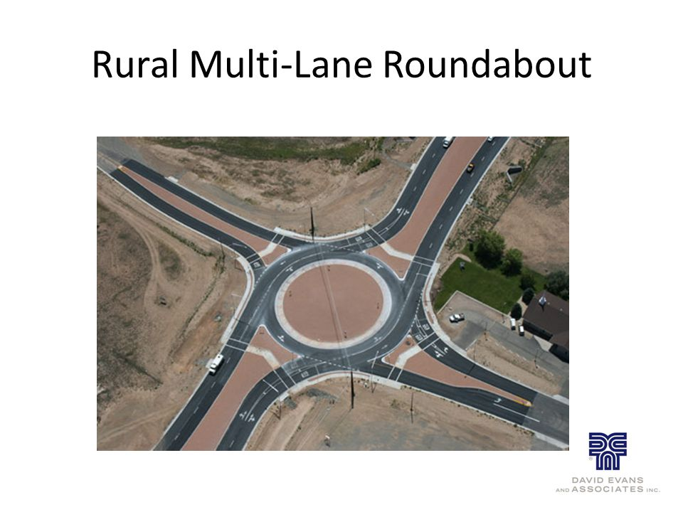 Rural Multi-Lane Roundabout