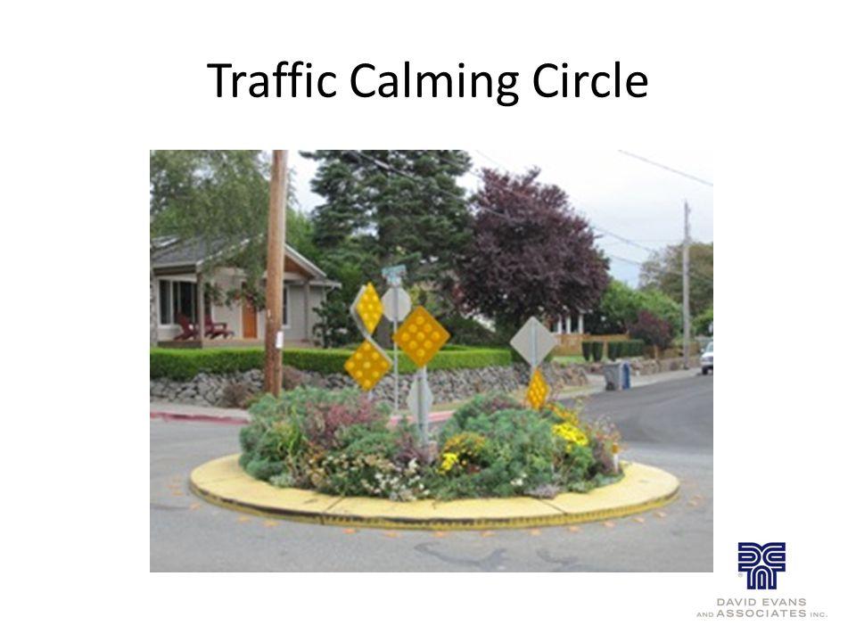 Traffic Calming Circle