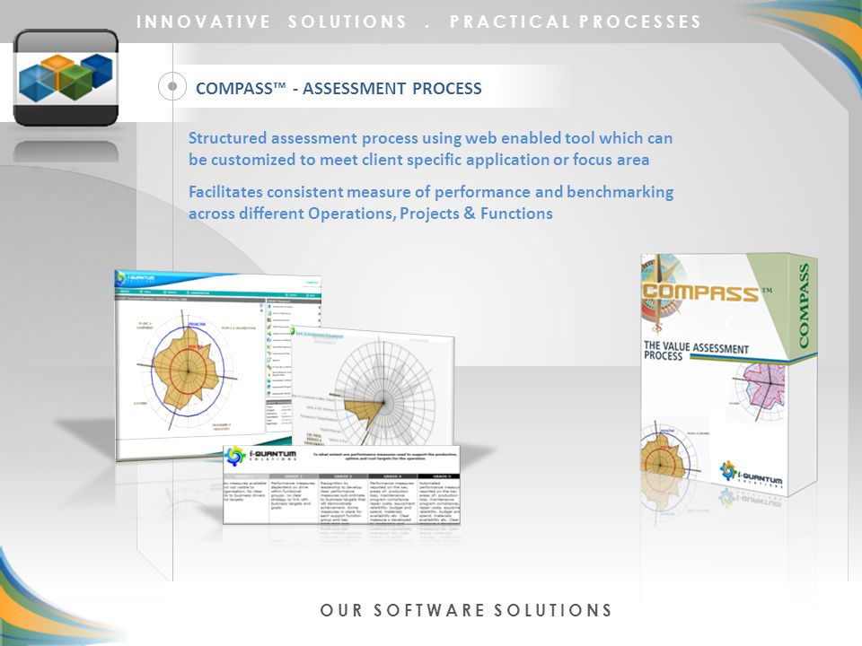 COMPASS™ - ASSESSMENT PROCESS INNOVATIVE SOLUTIONS.