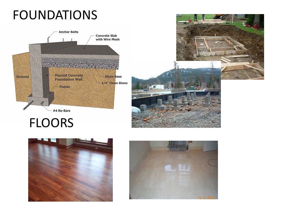 FOUNDATIONS FLOORS